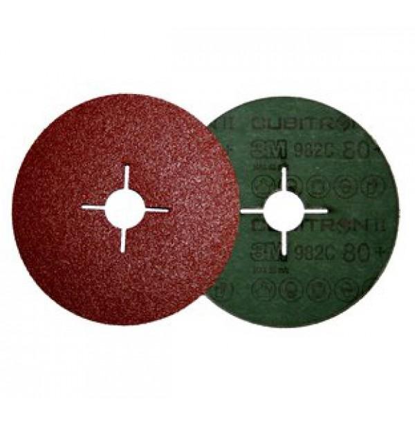 27698 Фибровый зачистной диск 982С Р36+ 180х22мм (Швейцария)