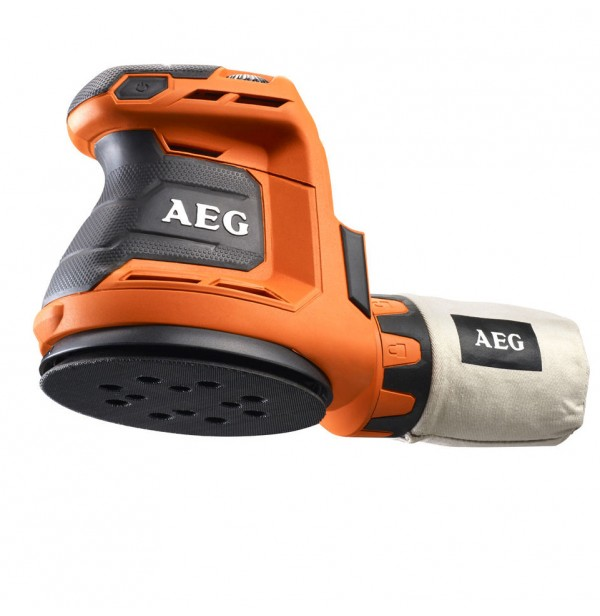 Аккумуляторная шлифмашина AEG BEX 18-125 - 0