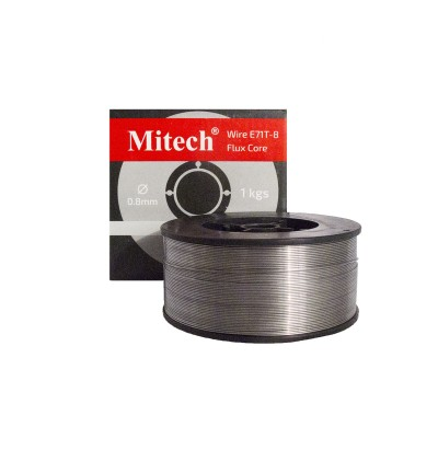 Проволока Mitech E71T-8 0.8мм (1кг), Флюсовая