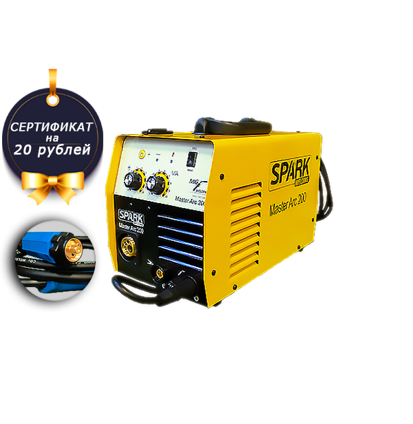 SPARK  MasterARC-200 (евро разъем)
